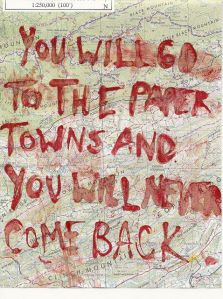 The town was paper but the memories were not.